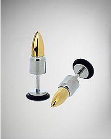 Steel Bullet Fake Plug Set