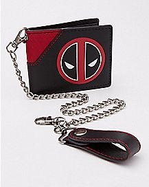 Deadpool Bifold Chain Wallet - Marvel Comics