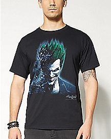 Arkham The Joker T shirt