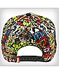 The Hulk Color Comic Snapback Hat