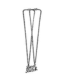 Best Bitches Necklace Set- 2 Pack