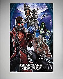 Group Marvel Guardians of the Galaxy Poster