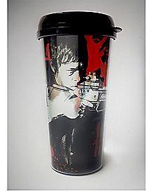Foil Daryl The Walking Dead Travel Mug 18 oz