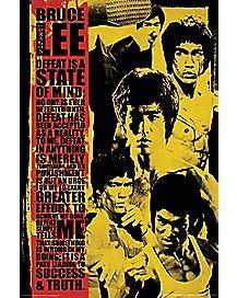 Montage Bruce Lee Poster