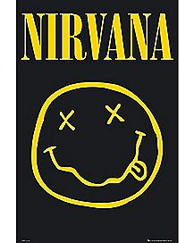 Smiley Nirvana Poster