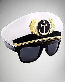 Captain Hat Glasses