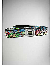 TMNT Comic Bam! Seatbelt Belt