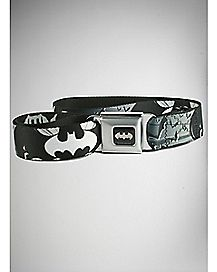 Bats Logo Batman Seatbelt Belt - DC Comics