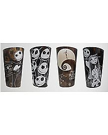 Nightmare Before Christmas Pint Glass Set