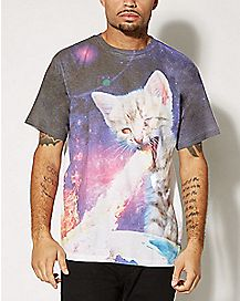 Armageddon Kitty Sublimation T shirt