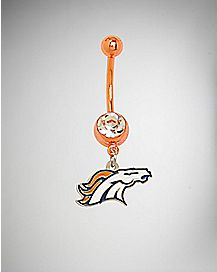 NFL Denver Broncos Belly Ring - 14 Gauge