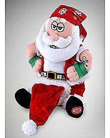 Animated South Pole Santa