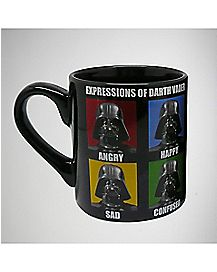 20 oz. Faces of Darth Vader Laser Mug