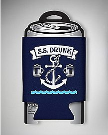 S.S. Drunk Anchor Can Cooler