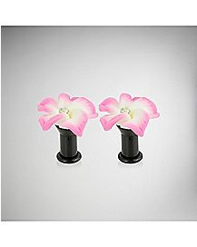 Hibiscus Plug 2 Pack- Pink White