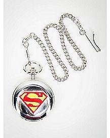 Logo Superman Pocket Watch