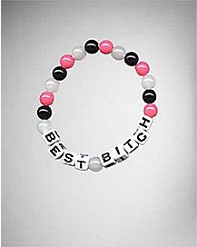 Best Bitch Bead Bracelet