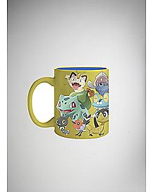 Foil Group Pokemon Coffee Mug - 20 oz.