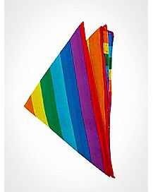Rainbow Stripe Bandana