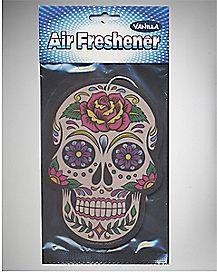 Sugar Skull Air Freshener - Vanilla