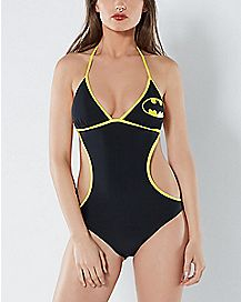 Logo Batman Monokini Swimsuit
