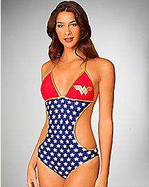 Wonder Woman Monokini Swimsuit