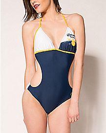 Triangle Monokini Corona Swimsuit