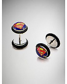 Superman Fake Plug Set - DC Comics