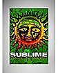 Sublime Sun Fabric Poster