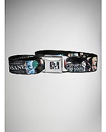 Joker Funhouse Batman Arkham City Seatbelt Belt - DC Comics