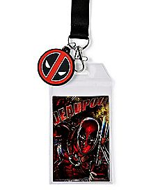 Deadpool 8bit Lanyard