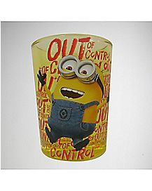 Despicable Me Out of Control Minion Over Sized Shot Glass