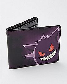 Gengar Pokemon Bifold Wallet