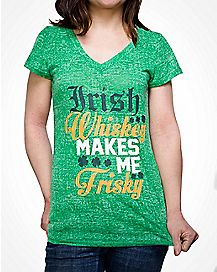 Irish Whiskey St Patricks Day T shirt