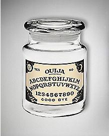 Ouija Board Storage Jar - 6 oz Glass