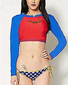 Wonder Woman Rashguard
