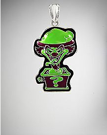Insane Clown Posse Riddler Box Green Necklace