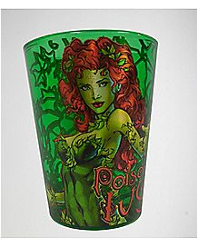 Poison Ivy Laser Shot Glass
