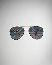 Union Jack Aviator Sunglasses