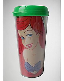 Glitter Ariel Travel Mug 16 oz. - The Little Mermaid