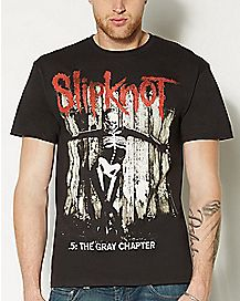 Gray Chapter Slipknot T shirt