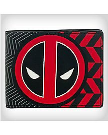 Geo Print Deadpool Bifold Wallet