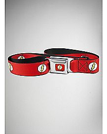 Logo The Flash Seatbelt Belt - DC Comics