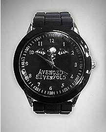 Logo Avenged Sevenfold Watch Black