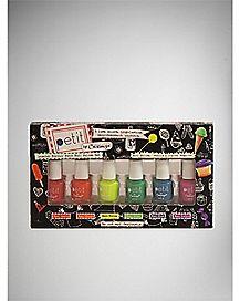 Sugar Neon Nail Polish 6 Pack