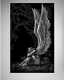Spiral Enslaved Angel Poster