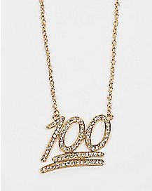 Keeping It 100 Chain Necklace