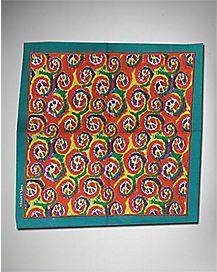 Peace Tie Dye Bandana