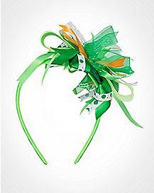 St. Patrick's Day Ribbon Headband
