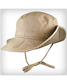 Khaki Canvas Boonie Hat